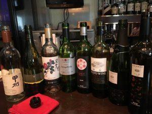全8本の日本ワインを皆さんで楽しみました。